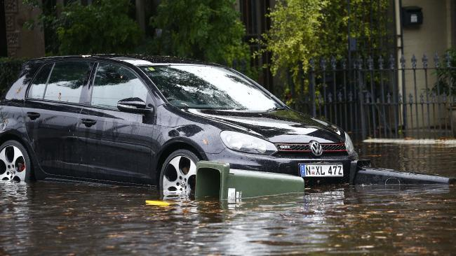 Heavy rainfall causes flash flooding, transport chaos across Sydney