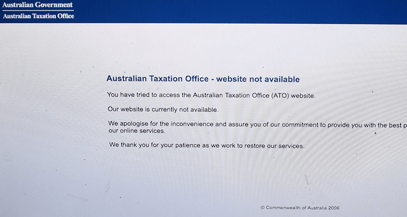 Fresh tax office website outages prompt calls for 'heads to roll