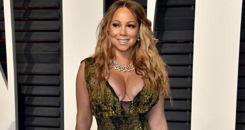 Inside Vanity Fair's Oscars after-party: Mariah Carey's nipple, thigh-splits and sideboob all showed up