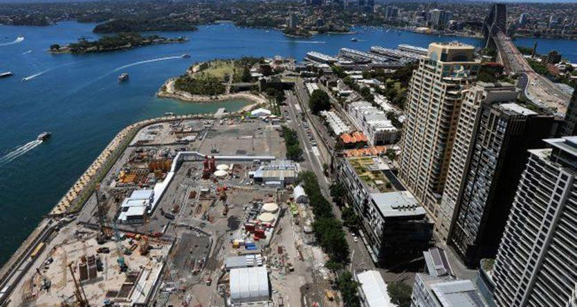 Man dies at Barangaroo construction site
