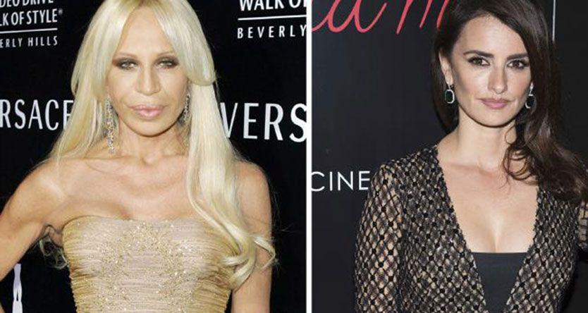 Penélope Cruz will play Donatella Versace in a new TV series (and she looks NOTHING like her)
