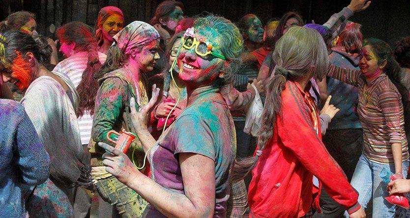 Holi festival: Delhi women forced into lockdown amid sexual harassment fears
