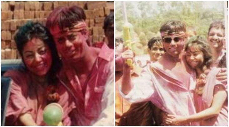 Holi 2017: Shah Rukh Khan and Gauri's unseen Holi video will force you to get drenched in colours. See pics