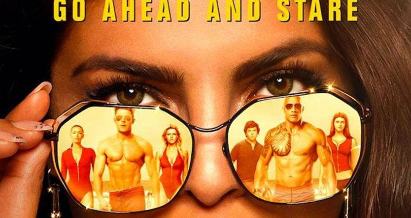 Baywatch new poster: All eyes on Priyanka Chopra as hers are on Dwayne Johnson, Zac Efron. See pic