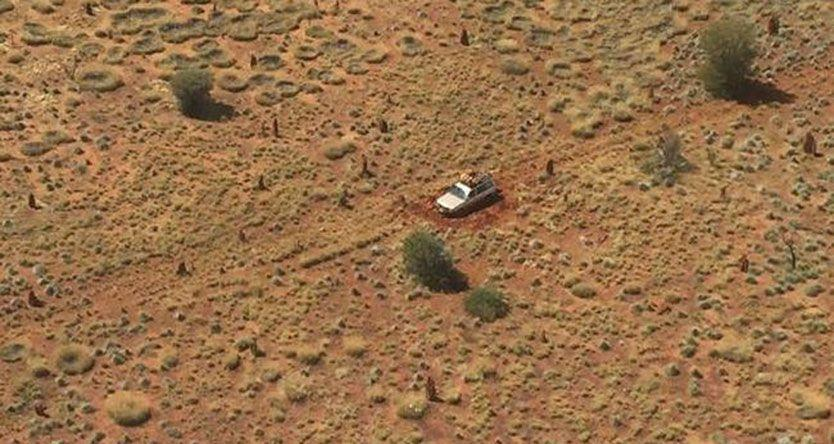 Dramatic Outback rescue of pregnant woman stranded in Gibson Desert with partner