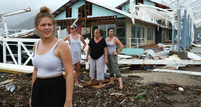 Airlie Beach workers in crisis as tourists set to avoid town after Cyclone Debbie