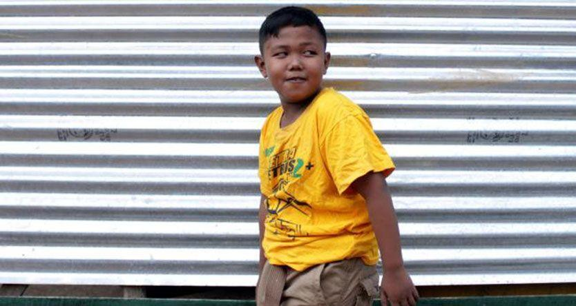 Ardi Rizal, the two-year-old chain smoker has kicked the habit for good as new photos emerge of a healthy nine-year-old