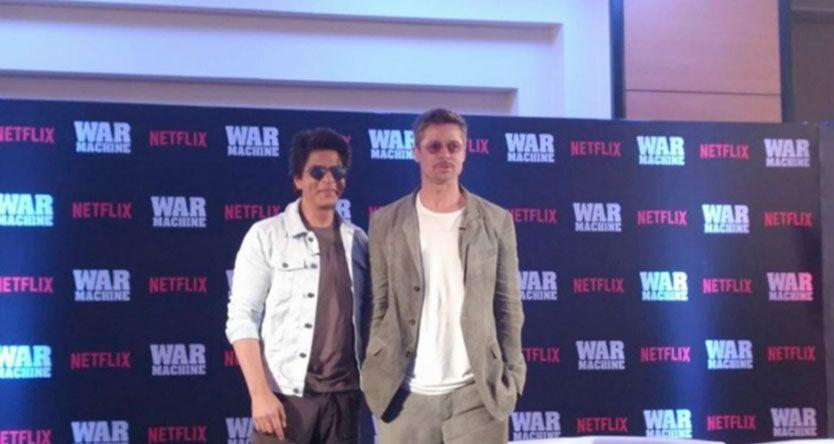 Brad Pitt meets Shah Rukh Khan but why was there no lungi dance? Here are all the deets