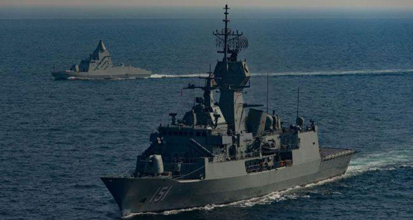 India rejects Australian request to join naval war games