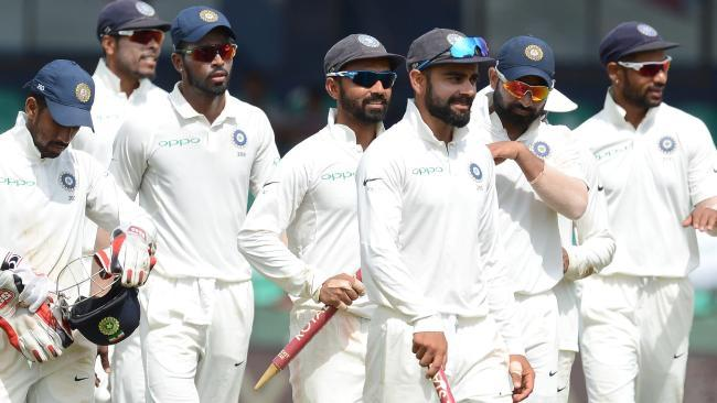 Virat Kohli's India lead the three-match series against Sri Lanka 2-0.Source:AFP