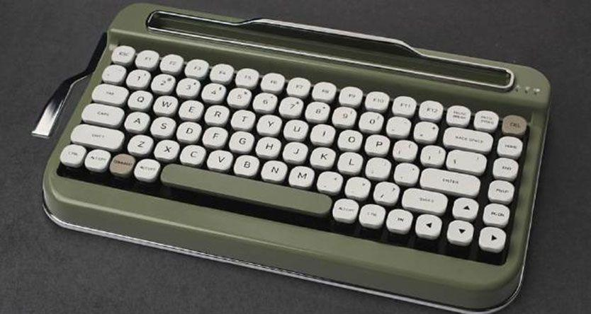 This retro typewriter keyboard is the most hipster product in years