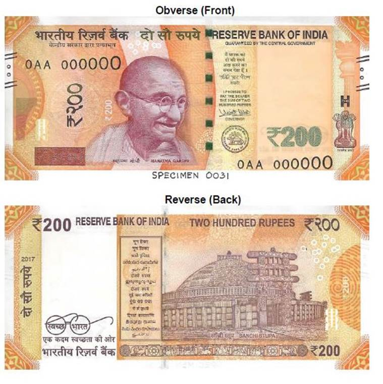 New Rs 200 note launched by RBI: Here are its top features