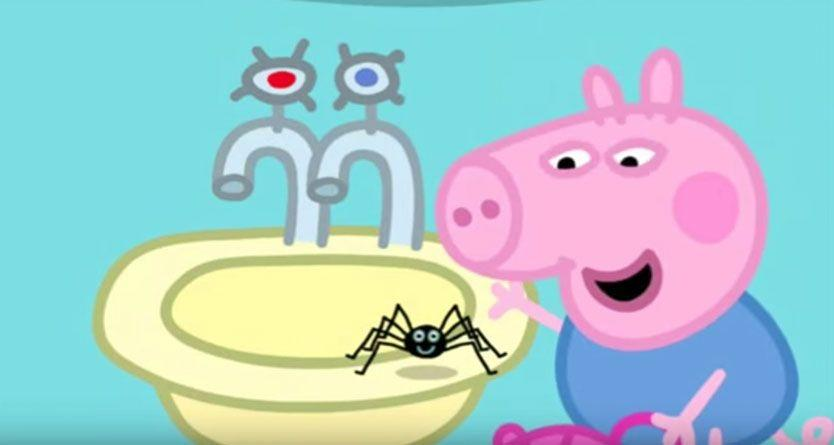 Peppa Pig 'spiders can't hurt you' episode pulled off air in Australia – again