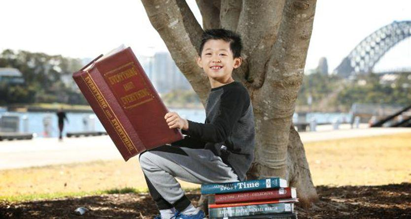 Meet the eight-year-old Australian 'Einstein' who's smarter than 99% of the population