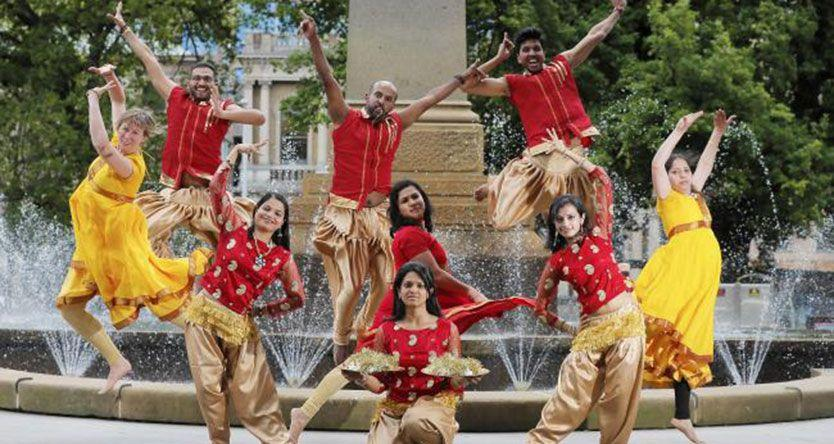 A taste of Bollywood in Hobart's CBD as Franklin Square hosts Diwali, the Indian festival of light