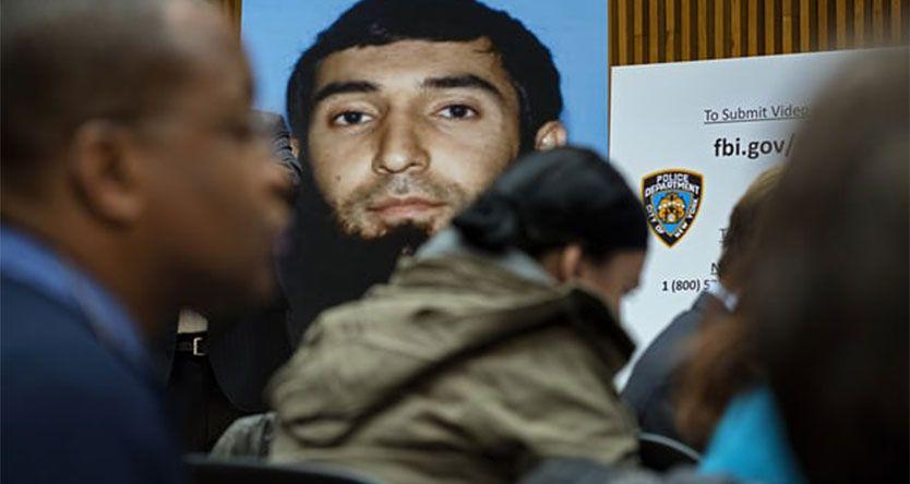 New York attack suspect Sayfullo Saipov charged with terrorism