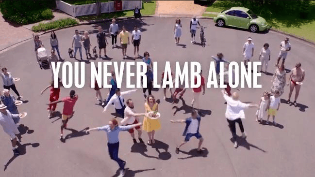 Another Lamb Ad, Only This Time Everyone Hates It
