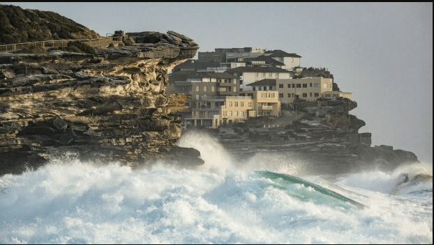 Warning Issued As Huge Surf Batters Coast From Sydney To Byron Bay