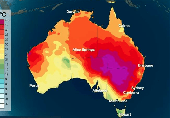 Stay Indoors! Sydney Set To Bake In 43 Degree Temperatures Again During Five-Day Heatwave