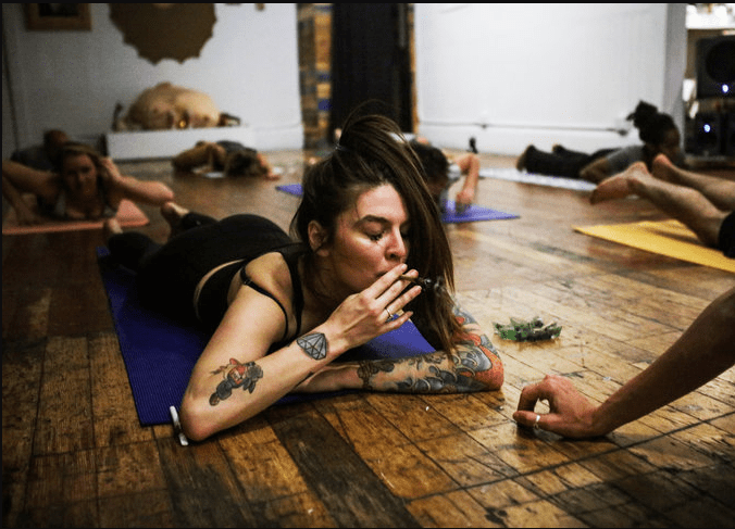 In The Name Of Guns, Cannabis & The Holy Yoga