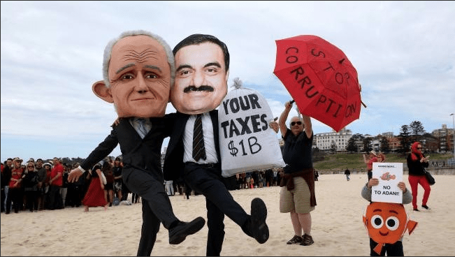 """Time for a """"SAVE ADANI"""" yet?"""