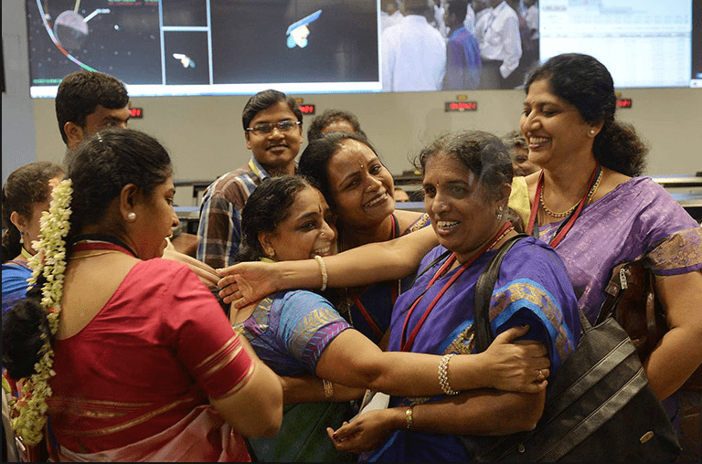 The Sky Isn't The Limit For India's Rocket Women
