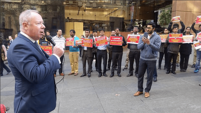 Sterlite Protest Extends To Sydney – What Agenda Are We Serving?