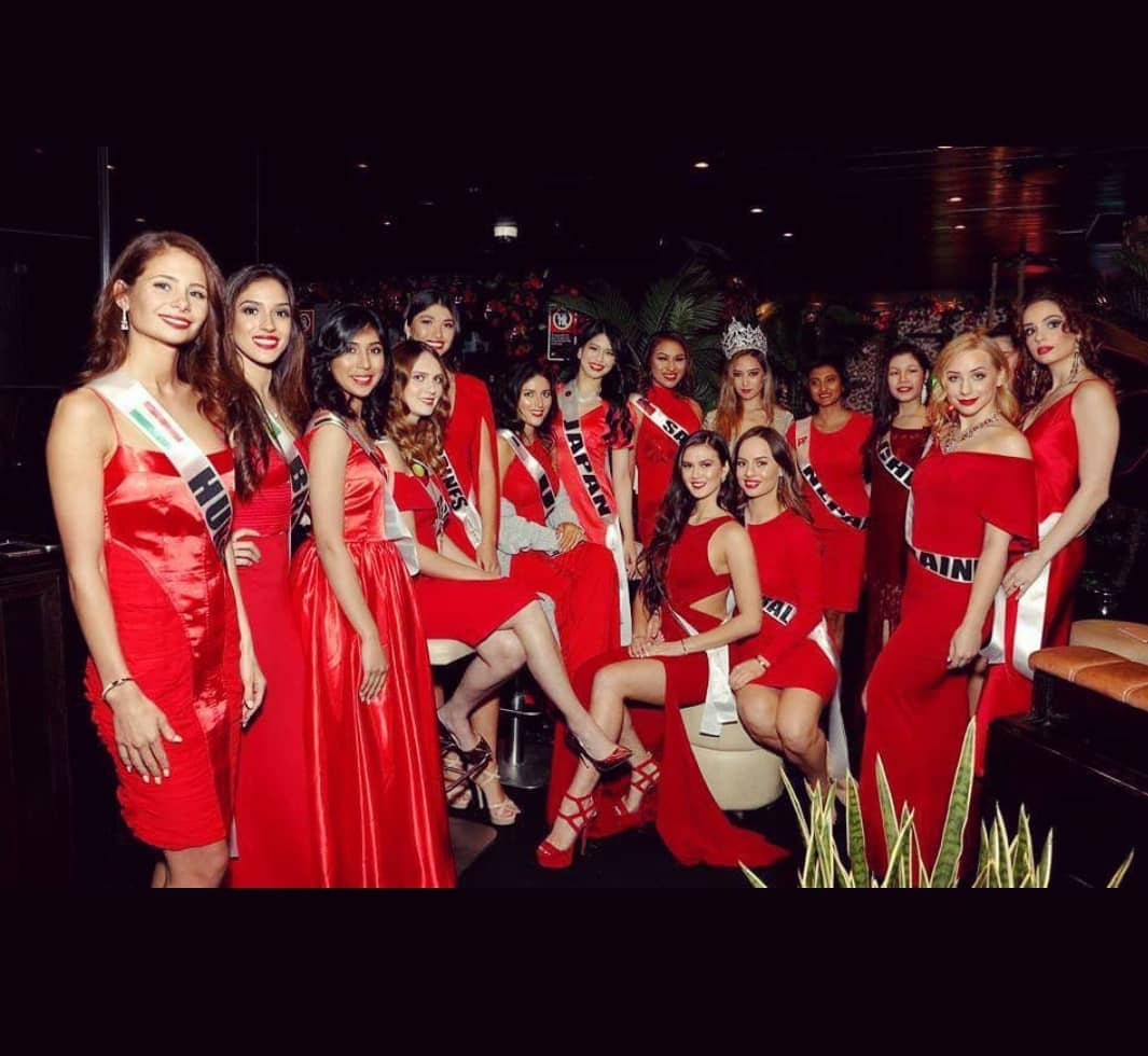 Ash Venkat Represents India At Pageant Of The World