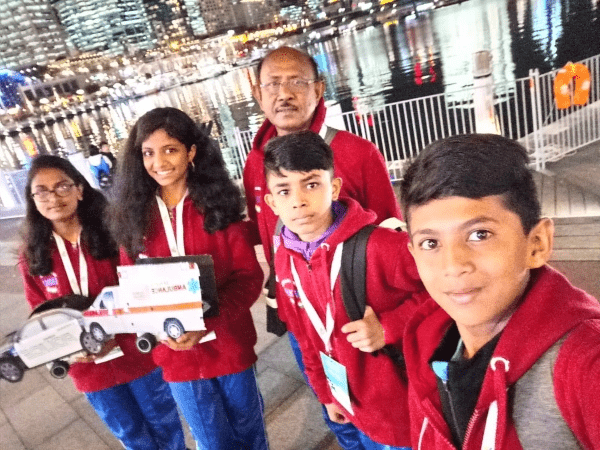 Indian students excel in the International Robotics Championship