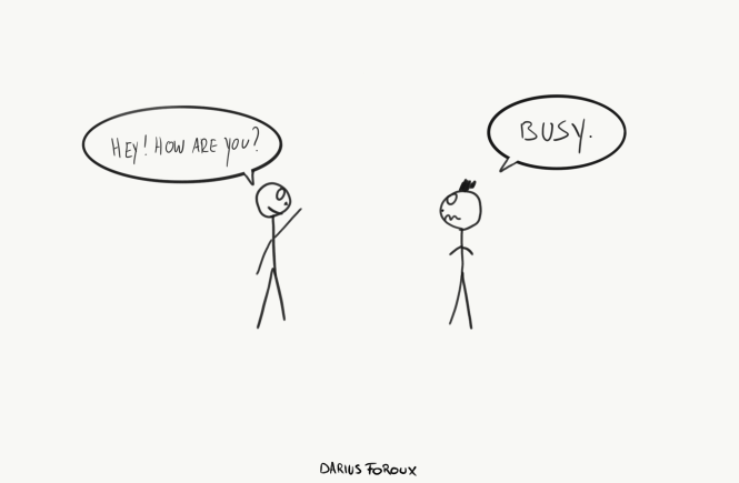 Why I Stopped Being Busy