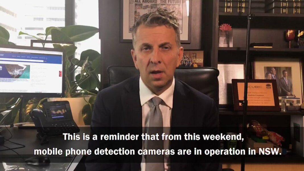 World first mobile phone camera detection pilot - NSW [Video]