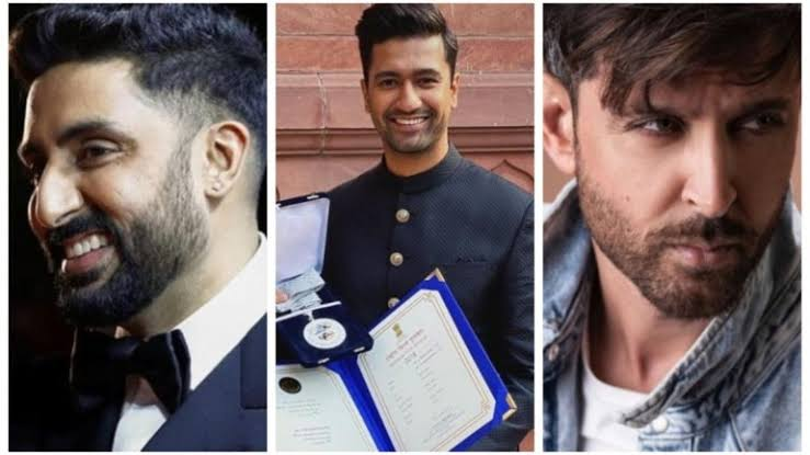 Abhishek Bachchan and Hrithik Roshan congratulate Vicky Kaushal on winning the National Film Award