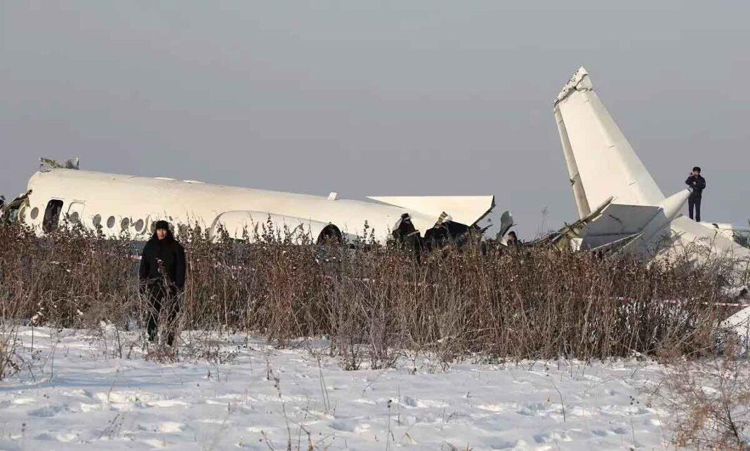 Plane with 100 on board crashes in Kazakhstan; 14 killed