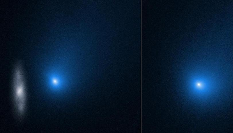 NASA Releases Photos Of First Interstellar Comet At Its Closest To The Sun