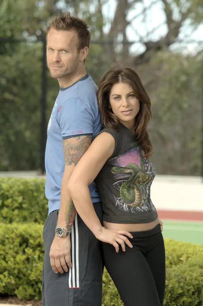 Bob Harper and Jillian Michaels from the US version of The Biggest Loser