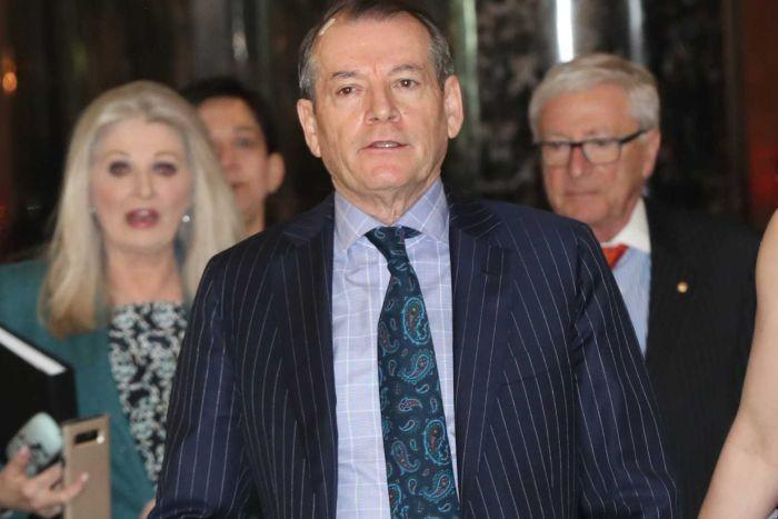 Crown's chairman John Alexander steps down ahead of a public inquiry into the casino giant