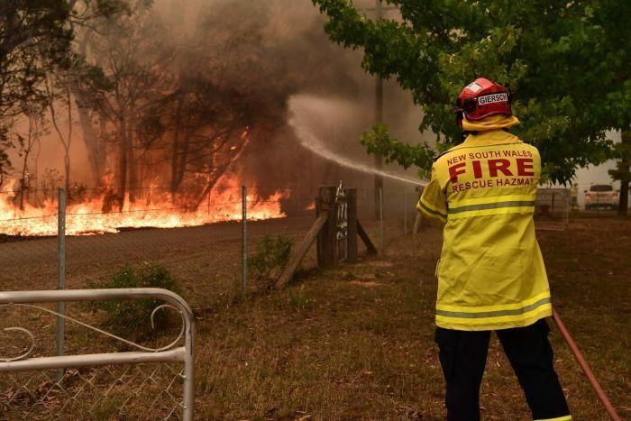 Firefighters have been battling wild blazes across the country for months