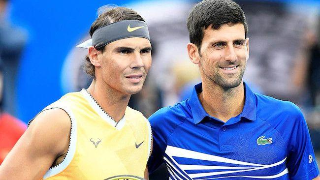 The donation from players was announced by Novak Djokovic and Rafael Nadal