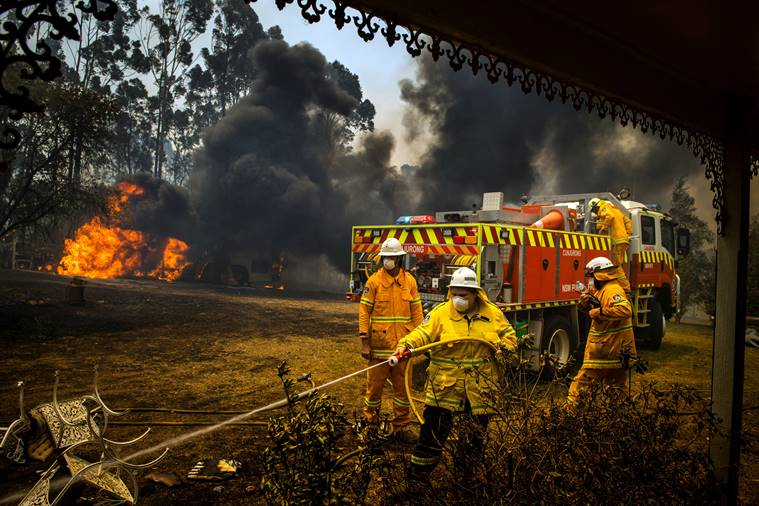 Australia fires intensify: 'It's going to be a blast furnace'