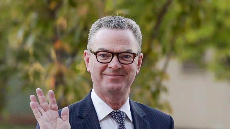 Christopher-Pyne-has-been-rebuked-for-his-comments-on-the-hack-against-Parliament