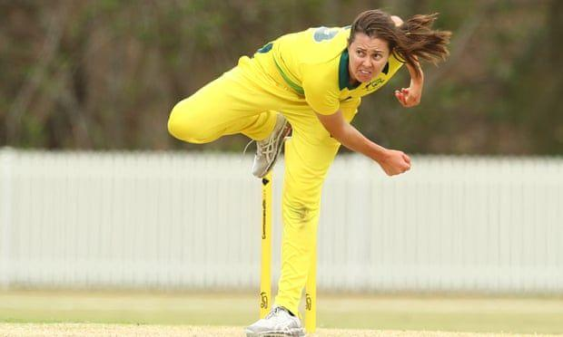 Molly Strano is the leading wicket-taker in Women's Big Bash League, with 96 scalps at 17.10.