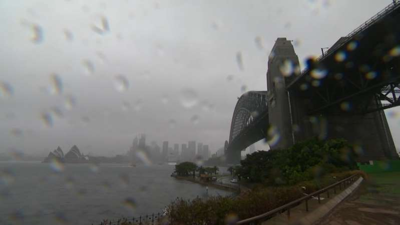 Sydney has seen the most rain in more than a year