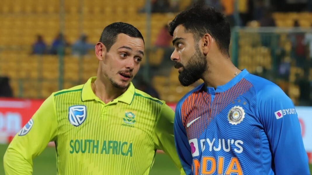 Coronavirus: India v South Africa ODI series rescheduled