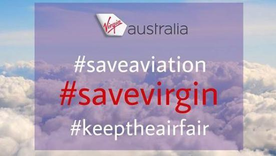 Virgin Australia workers and passengers take to social media to share stories of heartbreak and hope