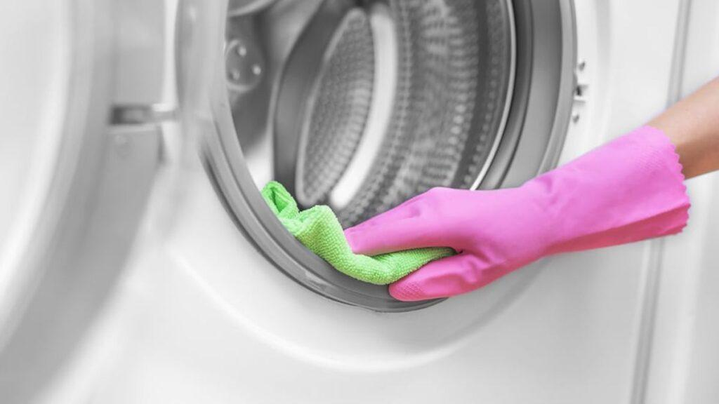 Always clean your washers