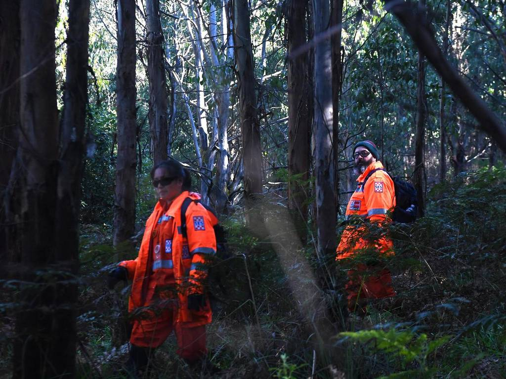 An air-and-ground search is continuing for a lost Victorian teenager William Callaghan. Credit: News Corp