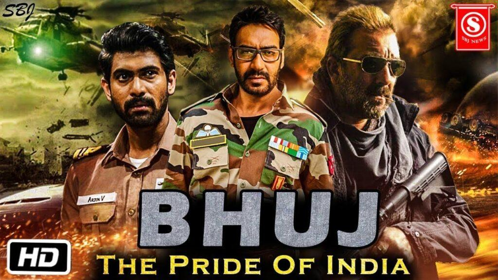 Bhuj The Pride Of India is an upcoming Indian war drama film produced by Bhushan Kumar and Divya Khosla Kumar . The film starring Ajay Devgn, Sanjay Dutt, Sonakshi Sinha