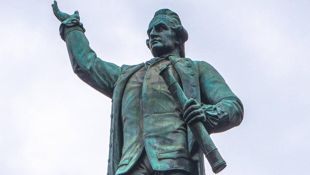 Charges laid after Captain Cook statue in Sydney's Hyde Park is allegedly defaced