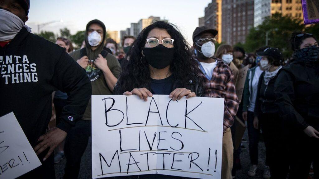 Mass 'Black Lives Matter' protests