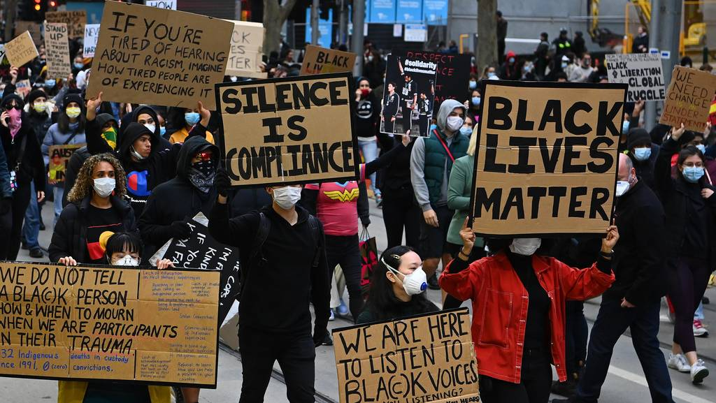 No major COVID-19 outbreak from Black Lives Matter protests Chief Medical Officer Brendan Murphy confirms